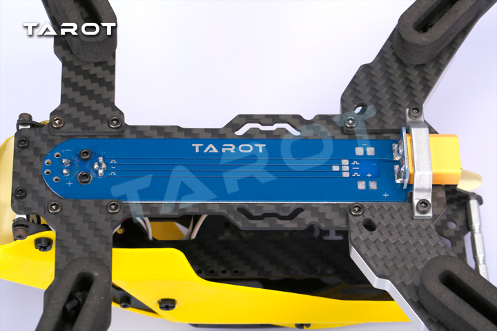 Kit quadrirotor Tarot 250 à travers FPV version fibre de carbone TL250C - 5