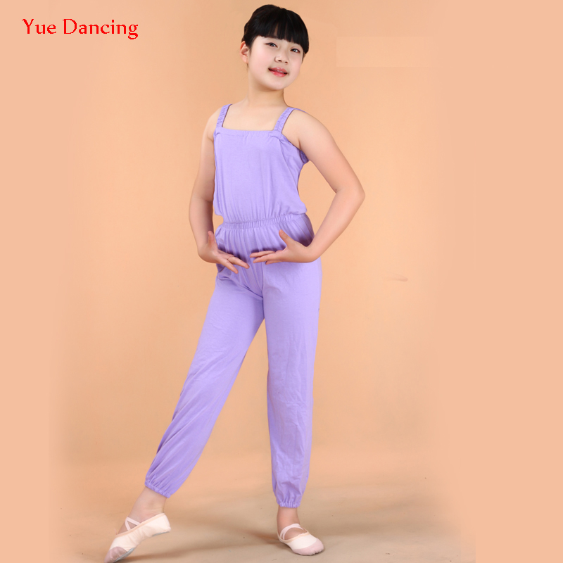Red/Black/Purple Latin Dance Costumes Fo Girls 3-16Y Children Slimming Pants Kids Yoga/Gymnastics Wear Junior Child Bib Short