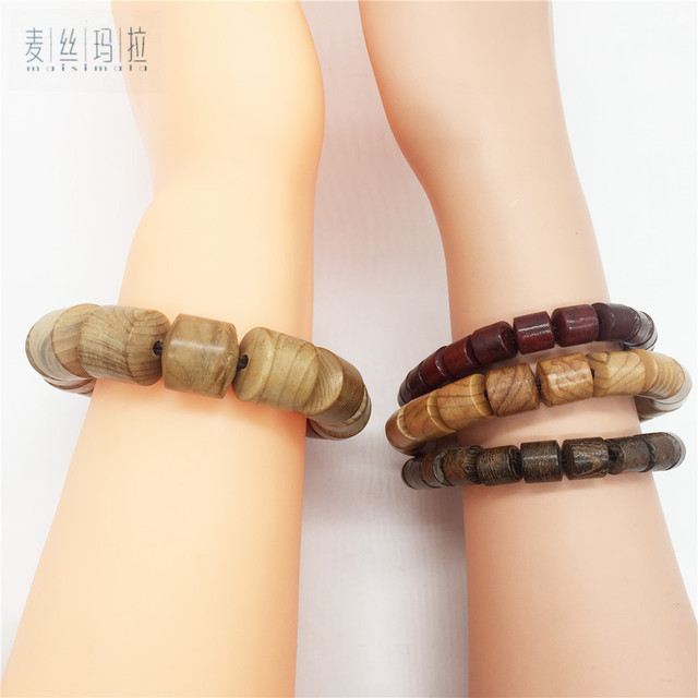 Couple Lover Bracelets Natural Wooden Natural Color Women Men Jewelry 2018 Gifts For Love Handmade Diy Brand Jewelry