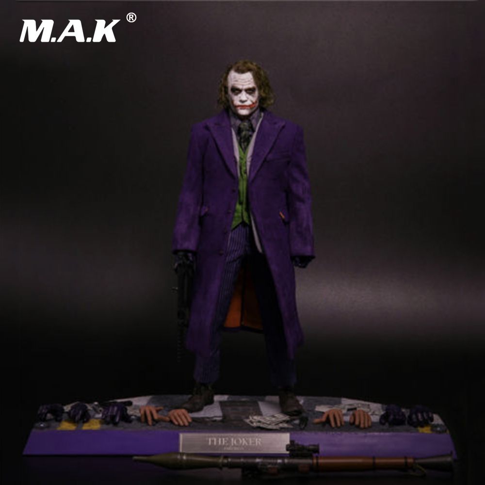 1/6 Scale Full Set The Joker Planted Hair Box_Set Action Figure Model Toys for Collection Gift with Box все цены