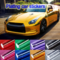 Hote sale 152x30cm 8 colors PVC Film Car Stickers Waterproof Car Styling Wrap For Auto Vehicle Car accessories Motorcycle BE