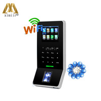 New Arrived ZK Biometric Fingerprint Time Attendance And Access Control With ID Card Reader ZK F22