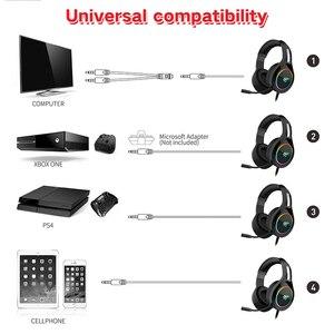 Image 2 - HAVIT Gaming Headset PC USB 3,5mm Wired XBOX / PS4 auriculares con Driver de 50MM, sonido envolvente y micrófono HD para ordenador portátil
