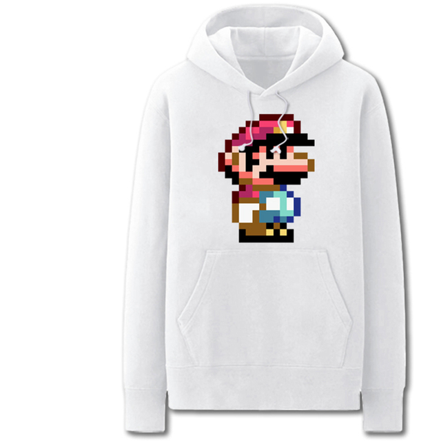 Mario One Piece 3d print Hoodies Sweatshirts 2017 Winter Fashion ...
