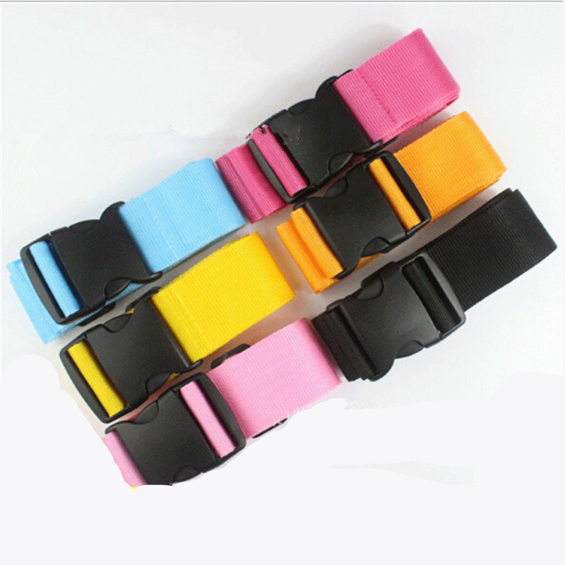 1PC Useful Baggage Belt Adjustable Suitcase Luggage Straps Tie Down Belt Buckle Strap Travel Accessories