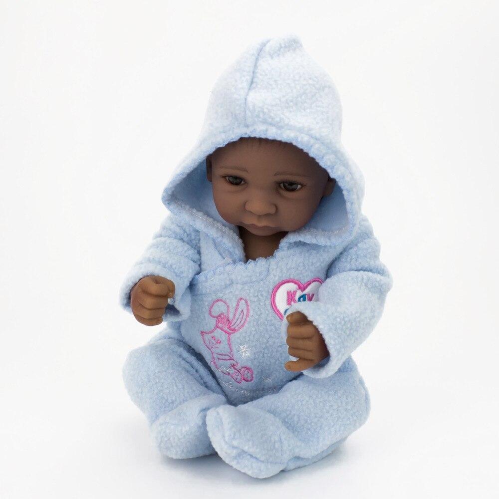 Kaydora 10 Inch 28CM Mini Baby Dolls Reborn Handmade Lifelike Twins ...