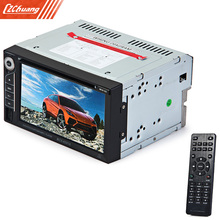 6 2 inches Touch Screen Double Din Car Audio Video DVD VCD MP5 MP4 MP3 Multimedia