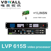 Vdwall Lvp615S 1 Pc Linsn Sender Ts802 Video Processor Scaler PRICE Led Video Wall Controller Transmitting