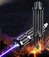 HOT! High Power 500000m Blue Laser Pointers 450nm Lazer Flashlight Burning Match/Burn light cigars/candle/black Hunting