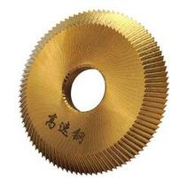 De titanio defu 16x60x6mm cuchilla para corte de llaves para 238BS/2AS /RH 2/BW 9 Horizontal disco clave de cerrajero fresadora cortador 60*16*6mm