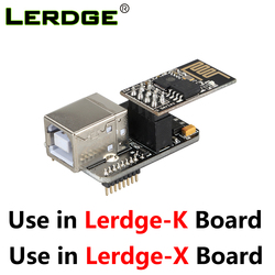 Impressora 3d usb link módulo computador em linha módulo módulo de controle wi-fi função extensível parte para lerdge-x lerdge k placa-mãe