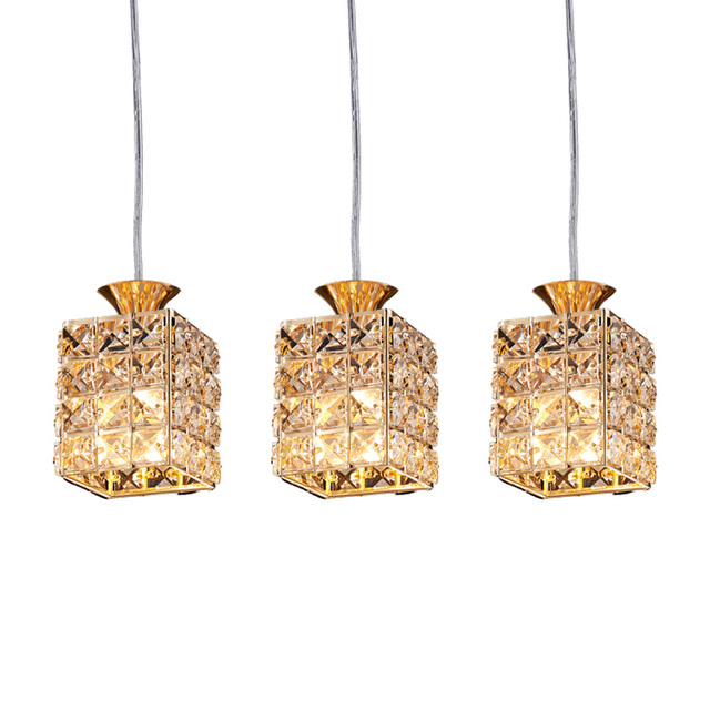 Crystal Hanging Lights Dining Room Light Restaurant Kitchen Bar Shop - Hanging lights for kitchen bar
