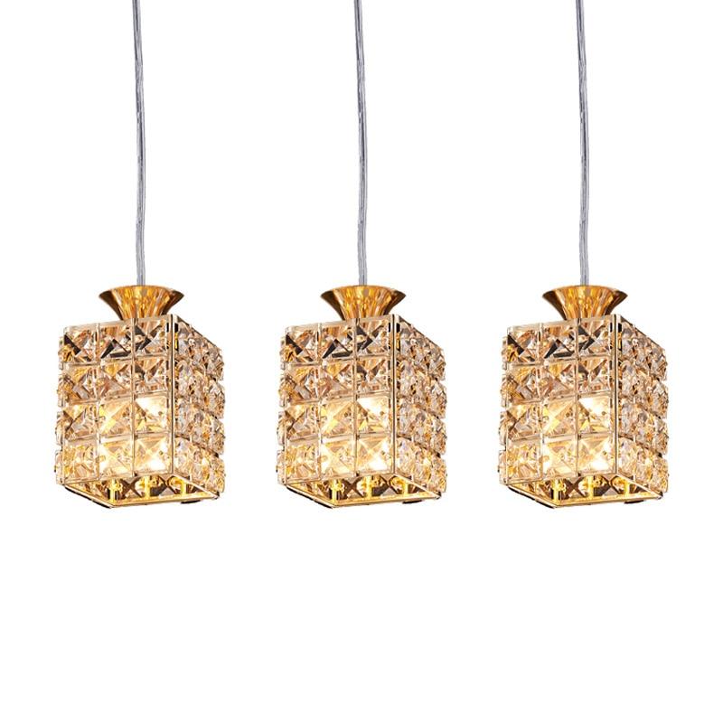 Crystal Hanging Lights font b Dining b font font b Room b font Light Restaurant font