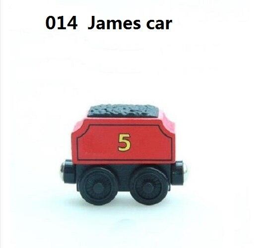 Деревянные магнитные паровозики, игрушки для железной дороги, деревянные паровозики для детей, подарок для детей, модель поезда - Цвет: Темно-серый