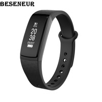 Beseneur B13 Smart Band Wristband IP67 Waterproof Heart Rate Blood Pressure Oxygen Sleep Detection For Android