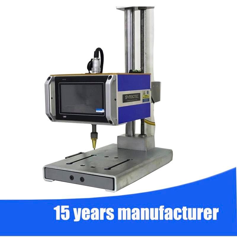 Desktop Dot Peen Marking Machine Pin Stamping Machine Metal Tag Engraving Machine