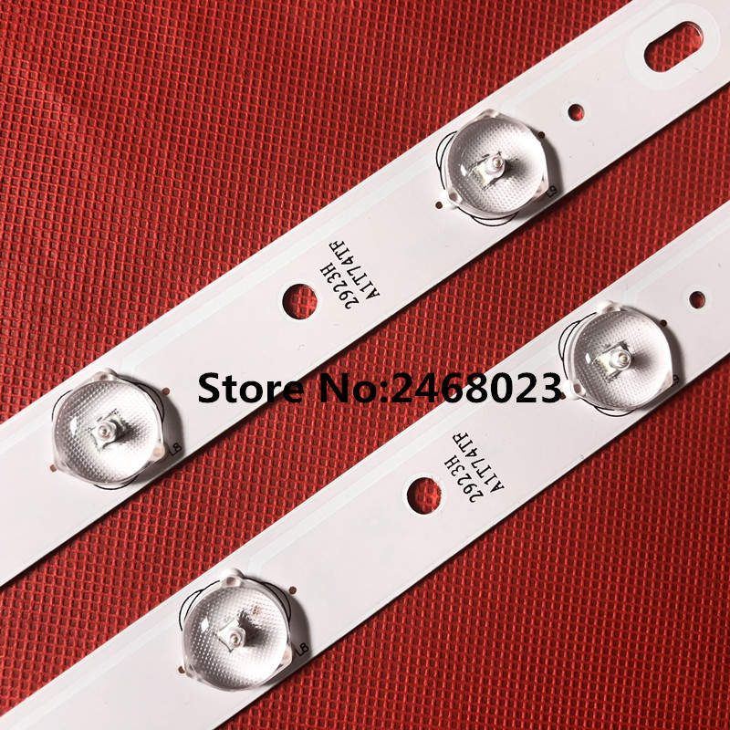 4 PCS/Lot Original New For KONKA 32inch TV KL32GT618 LED Backlight 35017727 1 PCS=64.4cm 10leds [1 LED=6V]