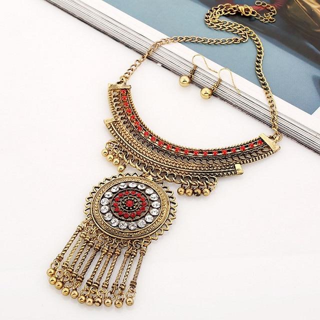 Женское Ожерелье чокер lzhlq винтажные массивные ожерелья подвески