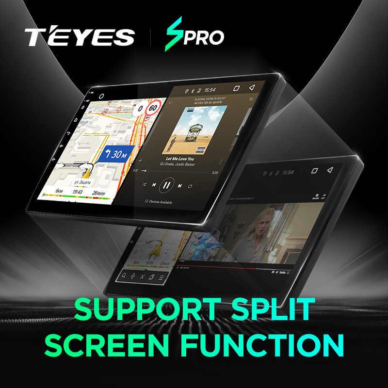 TEYES SPRO coche Multimedia Video PlayerNavigation GPS Android 8,1, 8,1 4G para Toyota Camry 7 XV 40 navegación wifi la radio del coche
