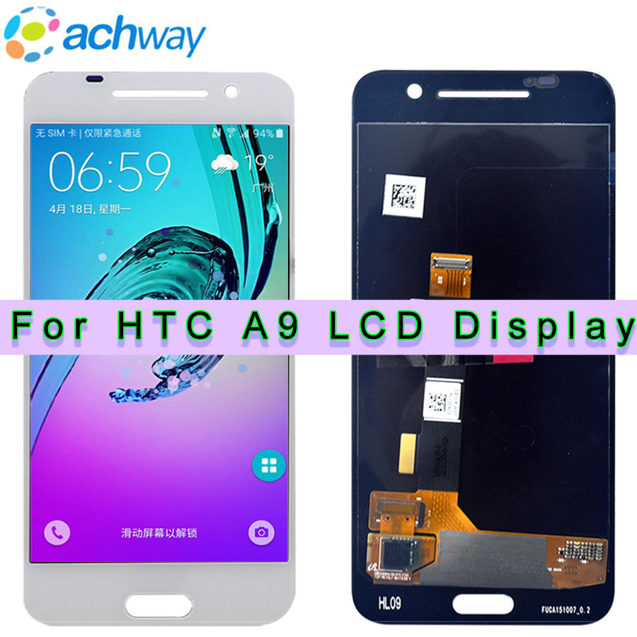 100 New Tested For 5 0 HTC One A9 LCD Display Touch Screen Digitizer Assembly Replacement