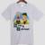 Beavis e ButtHead breaking bad DIY de manga curta dos homens T-shirt de algodão gola Redonda cinza branco 009