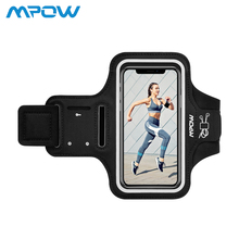 Mpow Adjustable Phone Armband Armlet Running Exercising Arm Band Case For iPhone X Smartphone Cell Phones Hand Bag For iPhone Ca comfy sport band workout armband adjustable neoprene velcro strap black for nokia latest smartphone retractable car charger
