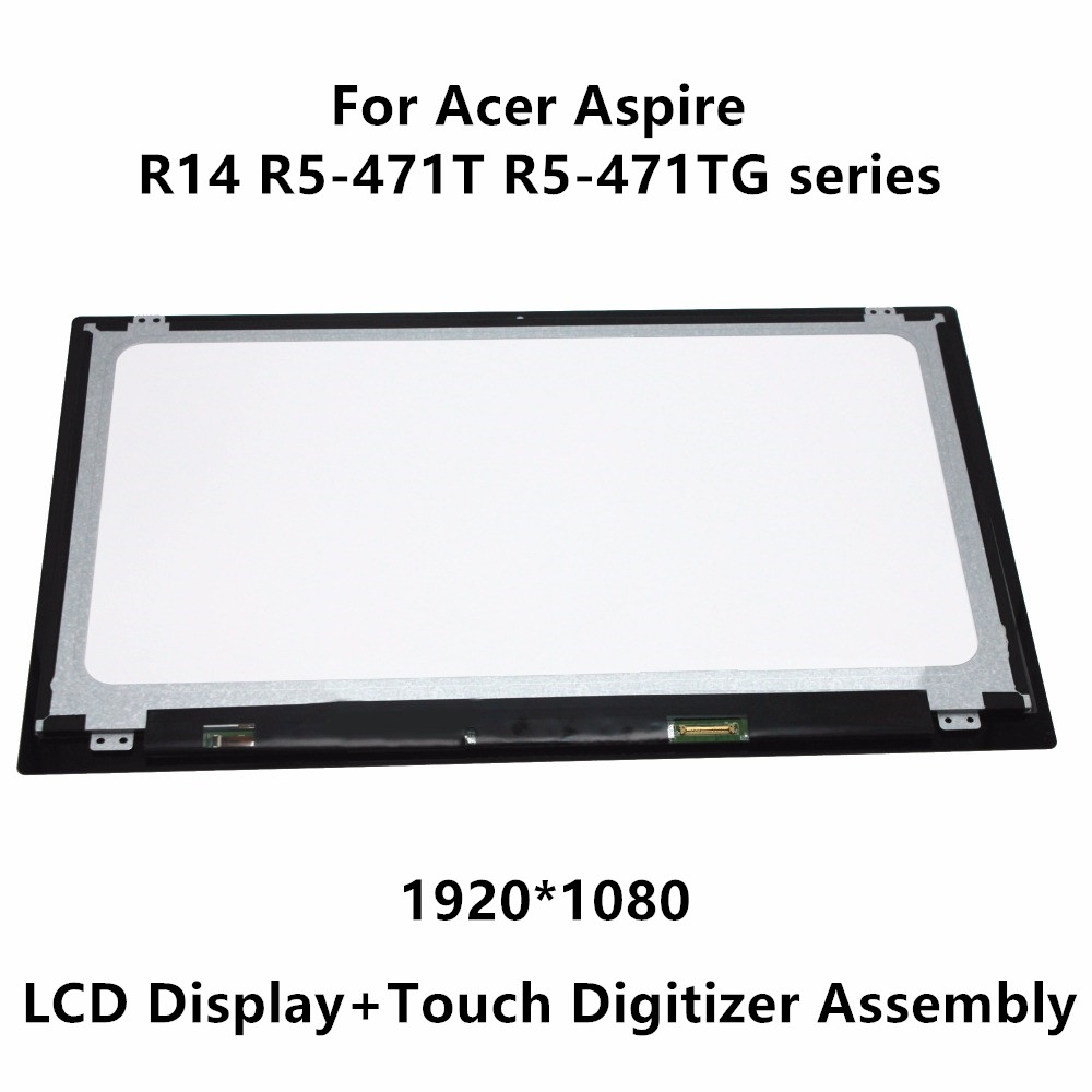 """14/""""LCD Display Touch Screen Digitizer Replacement For Acer aspire R3-431T series"""