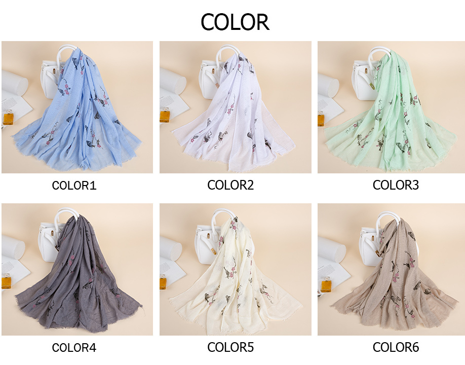 Soft Polyester Silk Neck Scarf Fashion Print Green Birch Forest In Spring Small Square Scarf Bed Head Scarf Square Scarf Women Multiple Ways Of Wearing Daily Decor