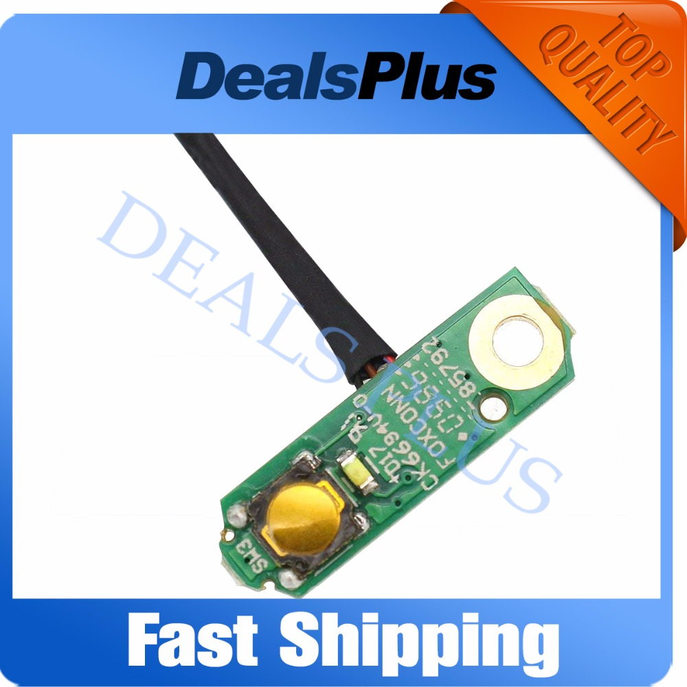 Brand New Dc Power Jack Cable And Power Button Pcb Board For Dell Studio 1555 1557 1558 Laptop Motherboard Parts Wide Selection; Back To Search Resultscomputer & Office