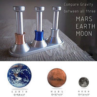MOONDROP Fidget Desk Toy Displaying Gravity On Moon Earth Mars Hand Spinner DE Science Kids Adult