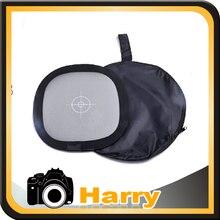 더블 페이스 카메라 접이식 반사경 화이트 / 그레이 밸런스 카드 + 가방 (18 % 그레이 + 퓨어 화이트)