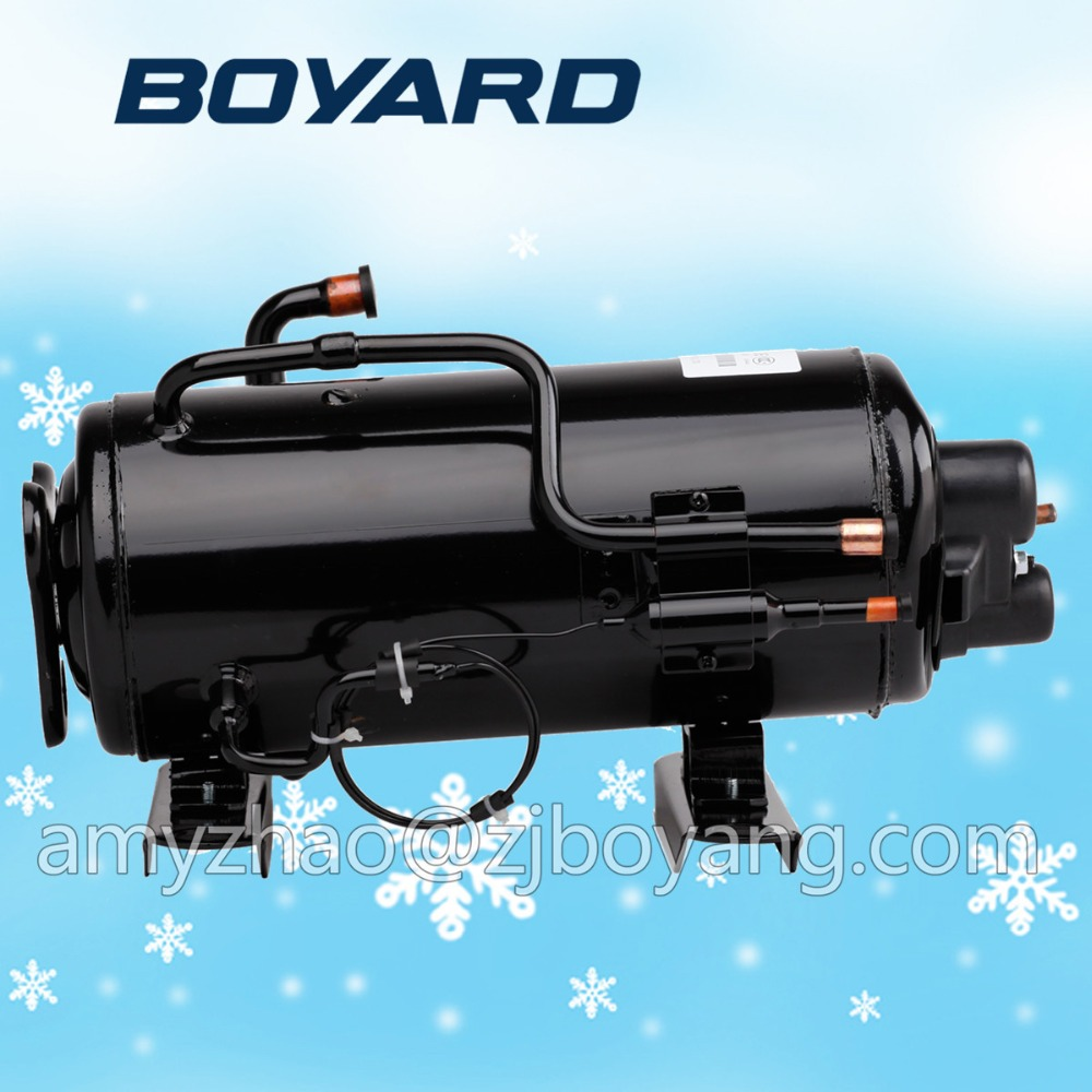 220V 60Hz supermarket showcase deep freezer with BOYARD r404a commercial refrigerator compressor