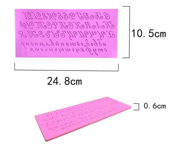 1PC / Çox böyük ölçülü sənət şrift əlifba məktubu silikon - Mətbəx, yemək otağı və barı - Fotoqrafiya 3