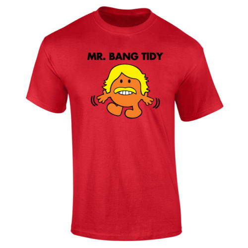 Mens Mr Bang Tidy Keith Lemon T shirt NEW S XXL Funny Tops Tee New Unisex Funny High Quality Casual Printing free shipping in T Shirts from Men 39 s Clothing