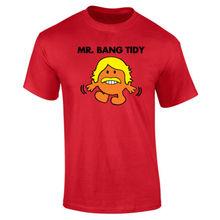 Mens Mr Bang Tidy Keith Lemon T-shirt NEW S-XXL Funny Tops Tee New Unisex  High Quality Casual Printing free shipping
