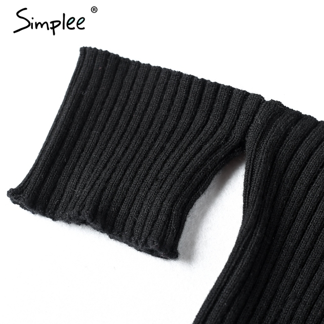Simplee Sexy slash neck knitted top tees Women black short sleeve bustier crop top Party white tops tank slim female camisole