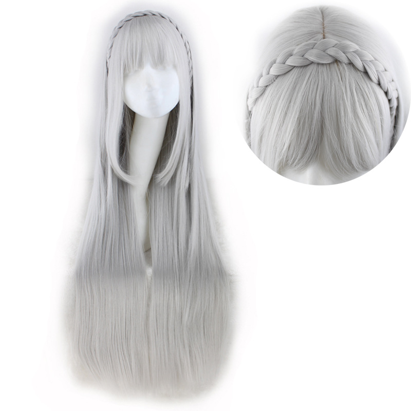 Costumes & Accessories Anime Re Zero Starting Life In Another World Cosplay Wigs Echidna Cosplay Wig Heat Resistant Synthetic Wig Hair Halloween Party Costume Props