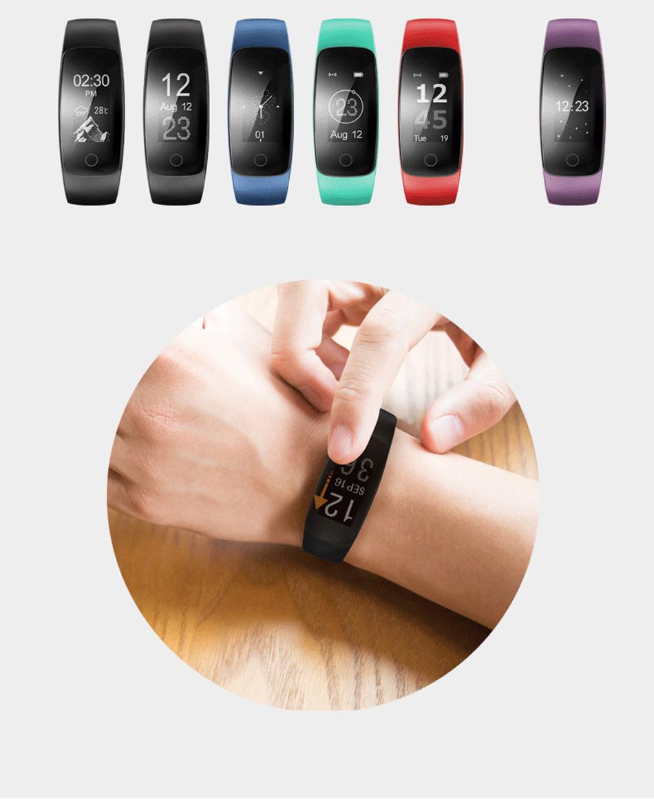Makibes ID107 Plus HR Smart fitness bracelet (13)