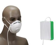 רפואי Li סוללה חמצן גנרטור בריאות DC12V נייד ליתיום סוללה O2 מרוכז עם סוללה מטען לרכב מתאם