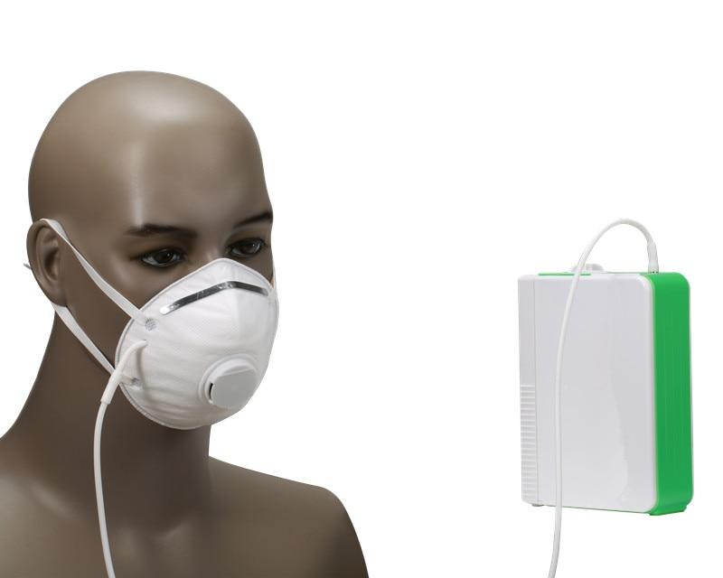 Médicaux Li Batterie D'oxygène Générateur Santé DC12V Portable Batterie Au Lithium O2 Concentrateur Avec Batterie De Voiture Chargeur Adaptateur