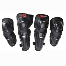 Motorcycle Knee Elbow Protective Pads Riding Protective Male Anti-fall Leggings Adjustable Motocross Skating Knee Protectors anti stab protective gear protective neck shoulder elbow pads thigh knee calf self defense anti cut anti hack full se anti tool