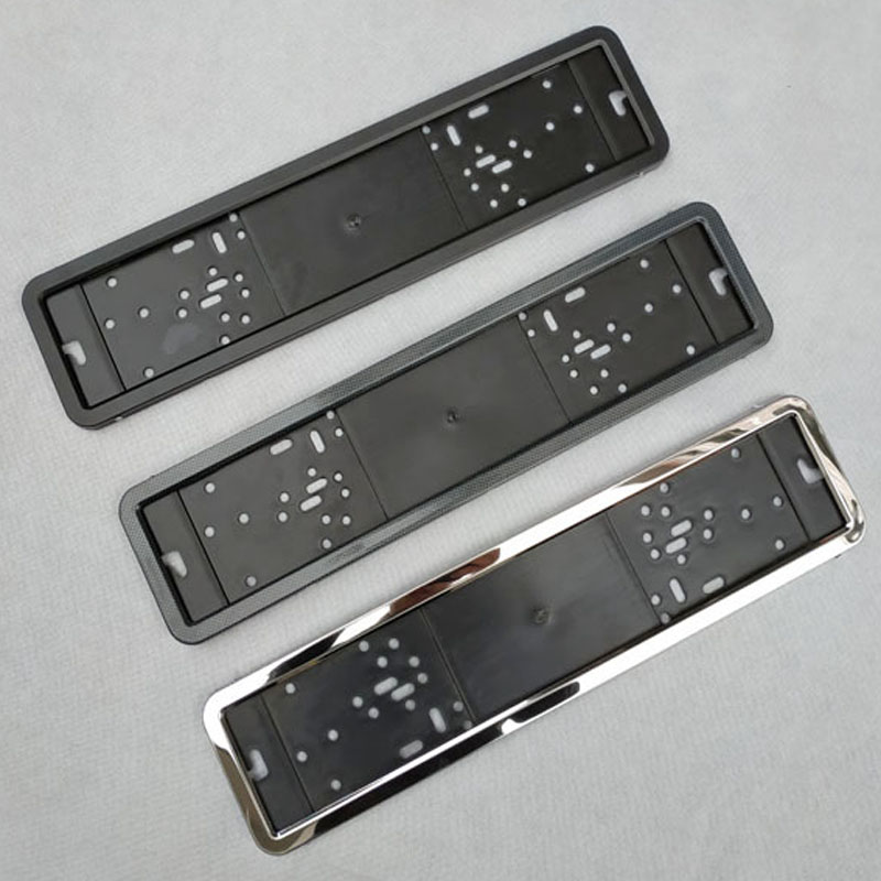 2/x 100/% Stainless Steel Plate Holder License Plate Holder with 8/Mounting Screws