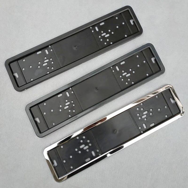 1 pcs Auto Licenza Telaio In Lamiera di metallo e di Plastica telaio Targa Auto Porta targa Fit UE