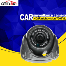 MINI Car Camera Gision CCD Sony Waterproof Vehicle CCTV Camera For Car Dvr Retail Bus Taxi IR Camera Free Shipping
