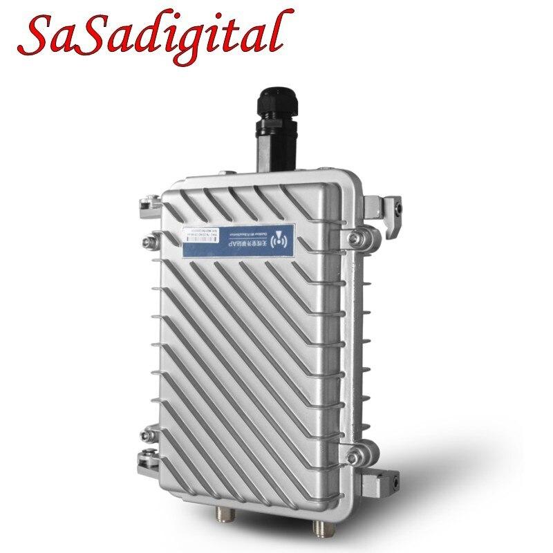 Высокая эффективность наружный беспроводной роутер CPE 500 МВт 300 Мбит/с База AP двойной 8dBi FRP телевизионные антенны Wi Fi расширения сетевой мост