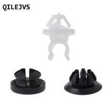 QILEJVS 10 pcs 91503-SS0-003 Hood Support Prop Rod Holder Clip For Honda Accord Odyssey Prelude