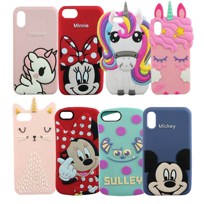 cover silicone 3d iphone 6