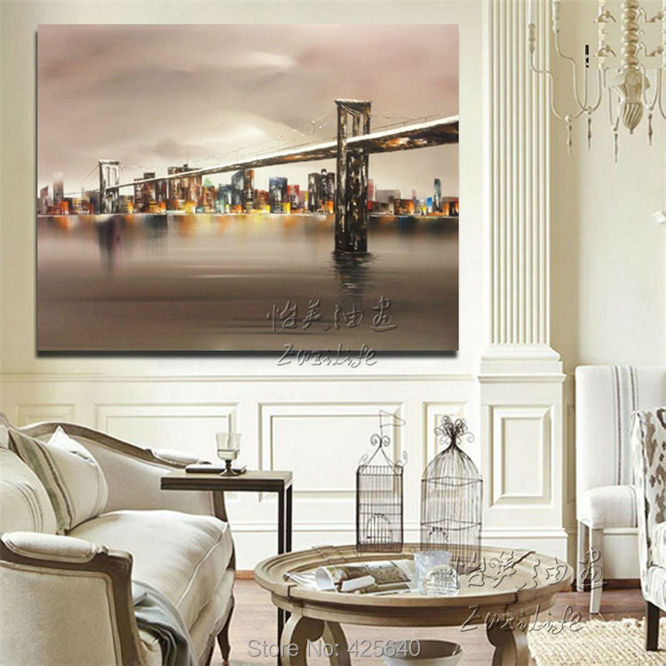 New York City Painting Home Decor Decoration Oil Rhaliexpress: New York City Home Decor At Home Improvement Advice