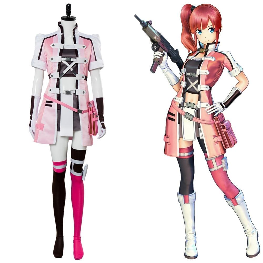 Sword Art Online:Fatal Bullet Kureha Cosplay Costume