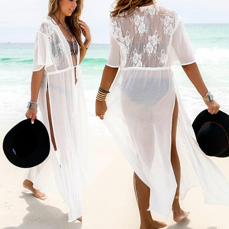 White Kimono Cardigan
